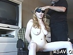 Busty lady relishes BDSM