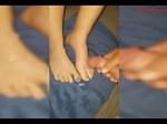 foot job cum on foot compilation