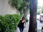 Asian gal gets a fabulous orgasm
