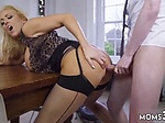 Milf anal stockings Having Her Way With A Rookie