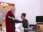 Milf threesome strapon Halloween Special With A Threeso