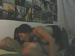 Hot latina fondles and eats out her girlfriend