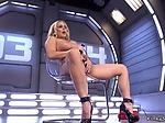 Huge tits and ass Milf fucking machine