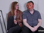 Kinky girl is taken in asshole asylum for awkward thera
