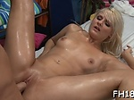 Amazing young blonde floozy Tosh Locks gets super wet