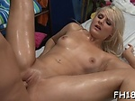 Dirty blonde Tosh Locks gets filled with meat bazooka