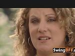 Amateur swingers go to a ardent ero...
