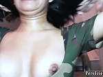 Teen double headed dildo Hide And Go Freak
