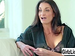 Sexy MILF Silvia Saige enjoys licking Alina Lopez wet p
