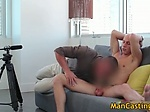 Shaved dude Mathew gives sexy oral sex and getting poun
