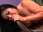 Asian hottie pulled by the hair and fucked