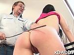 Teen slut fucked an old guy