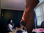 Amateur homemade threesome sex