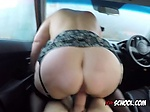 Chick Lacey Starr Milks Driving Examiners Big Cock