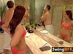 Amateur Swingers play interact and ...