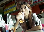 Salacious japanese lady gets hammered from behind