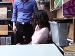 Shoplifter Teen Kat Arina helps LP ...