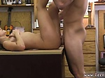 18 amateur anal Card dealer cashes in that pussy