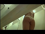Gorgeous student spied in dressing room