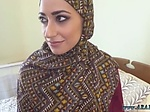 Beautiful arab teen and home made No Money No Problem