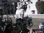 College babe Kristen Scott gets a double penetration