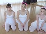 Cute teen cum compilation Ballerina...