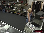 Blonde slut Stevie Sixx loves sucking Sean Lawless big