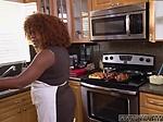 Step mom eat ebony xxx Squirting black patrons teens a
