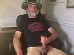 Big cock daddy taking a break in the office