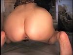 Asian girl shitting a big turd