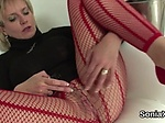 Unfaithful british milf gill ellis pops out her enormou
