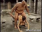 Ugly Ogres Fuck 3D Busty Girls