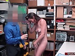 Milf thief accomplice banged by officer