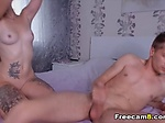 Girlfriend In Heat Rides a Big Cock...