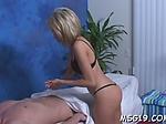 Stunner in pantyhose sucks dick