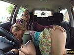 Olga Cabaeva screwed by nasty instructor inside FDS car