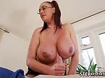 Big tit amateur milf Big Tit StepMom Gets a Massage