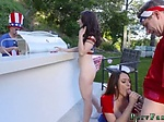 Pale amateur teen fuck Family Fourth Of July