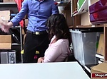 Latina banged by officer after getting caught shoplifti