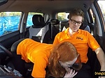 Sweet teen Ella Hughes fucked by her driving instructor