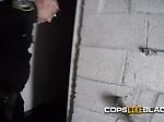 CFNM deepthroat blowjob on the roof