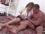Unfaithful uk milf lady sonia displays her gigantic hoo