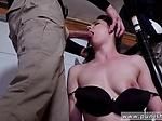 Extreme mixed wrestling and bondage inflate Kyra Rose i