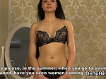 Virgin Alesya Razorvalo playing with tits