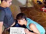Gay Asian boy gets used