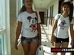 DIRTY tourist breeding two ASIAN teens bareback doggyst