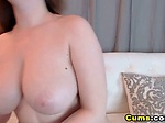 Busty Horny Slut Masturabate on Cam