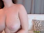 Busty Horny Slut Masturabate on Cam
