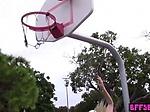 Lesbian basketball teens tasting their coachs hot pussy