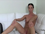 Sexy milf fucked on interview